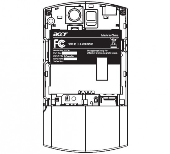 Acer Liquid A1 Passes FCC with AT&T 3G Bands