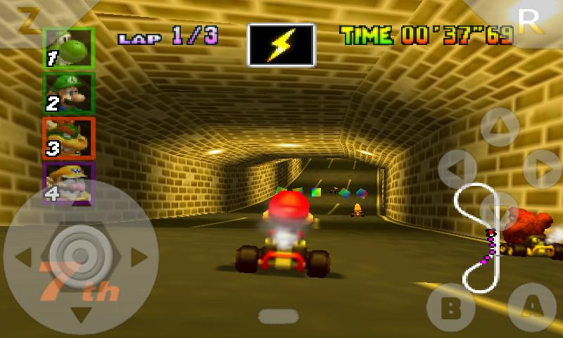 First Nintendo 64 Emulator N64oid Hits The Android Market