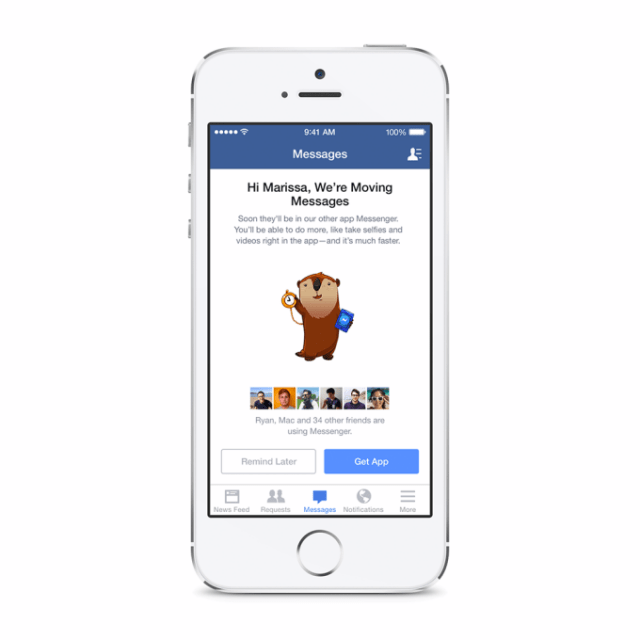 Mandatory Facebook Messenger Install Launching This Week