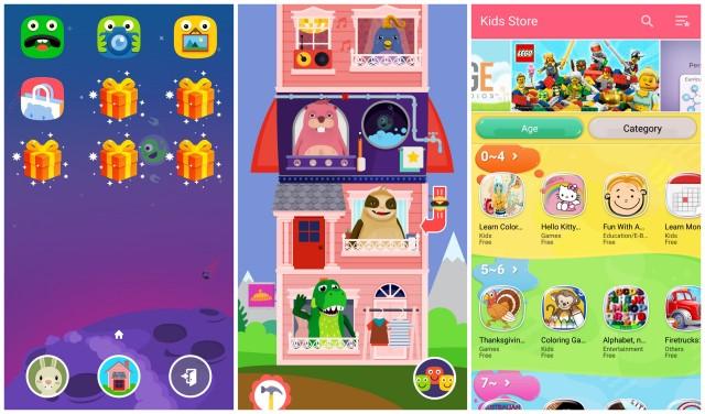 Modalità Samsung Galaxy S6 bambini