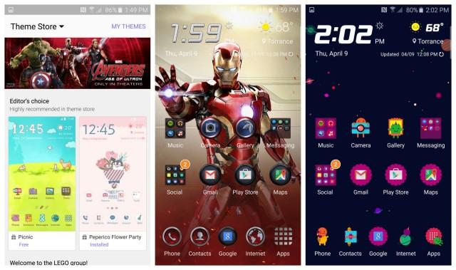 Samsung Galaxy S6 Temi