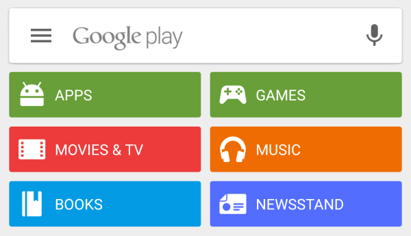 Google Play Store 5.5 With Material Animations