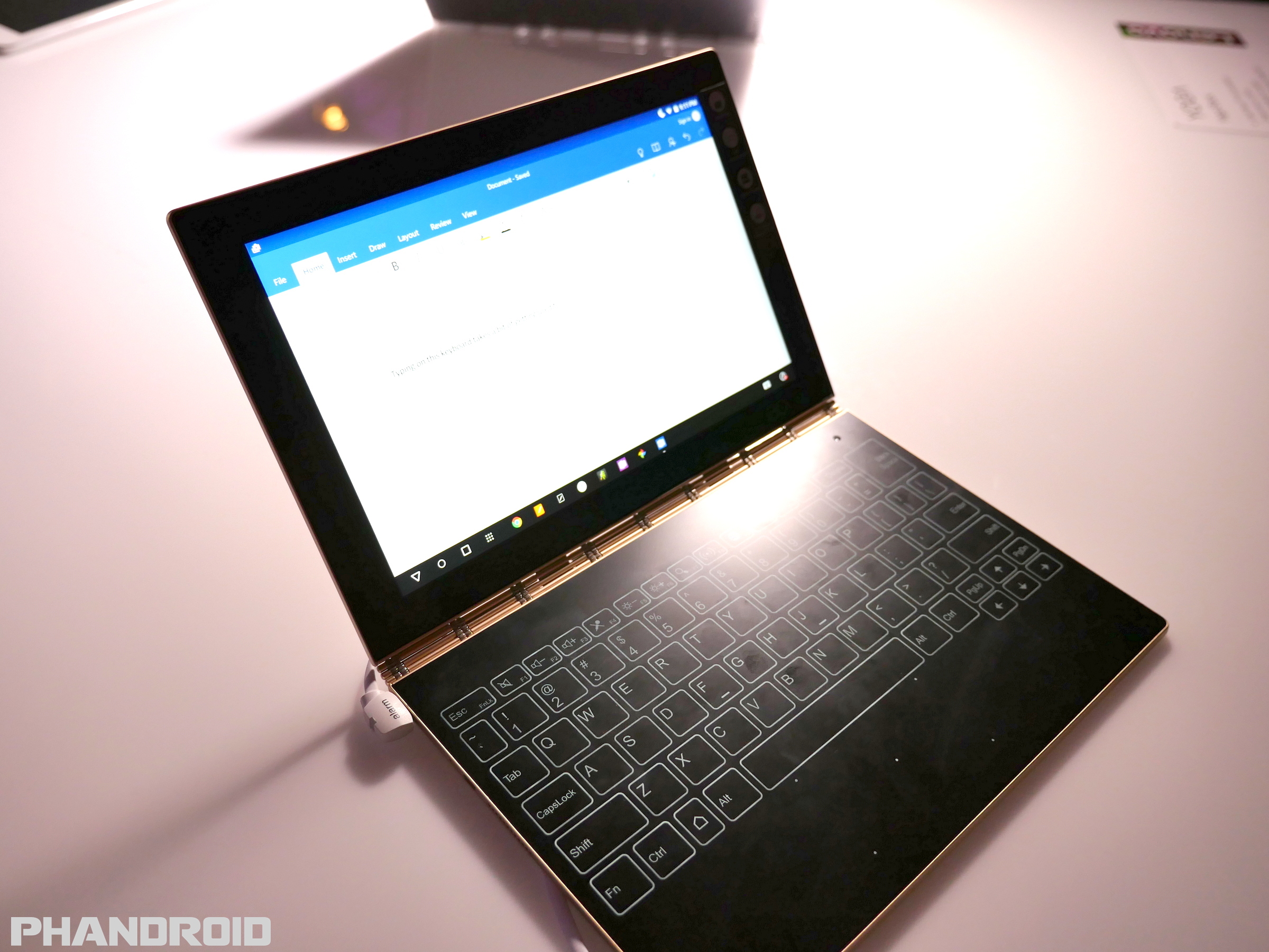 Lenovo Yoga Book Can Make Digital Copies From Pen Amp Paper