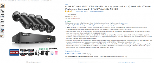DEAL: Get the Annke 8 Channel Security System for $80.29 w