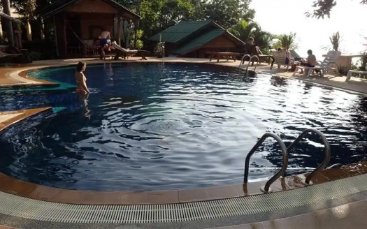 Haad Gruad, Koh Phangan seafront resort for rent