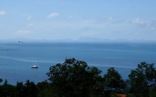 Koh Phangan west coast best sea view land for sale #4