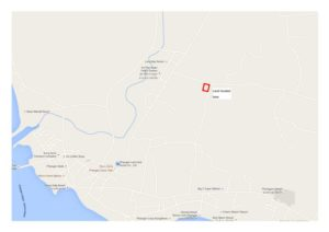 main road Tong Sala land for sale - location