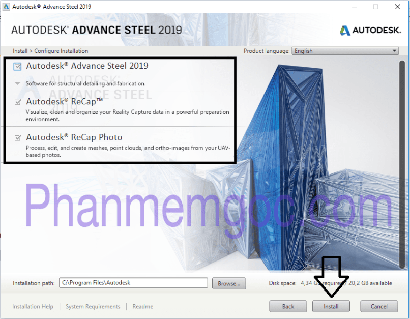 Download Autodesk Advance Steel 2019 Full Crack Link Google Drive 004-min