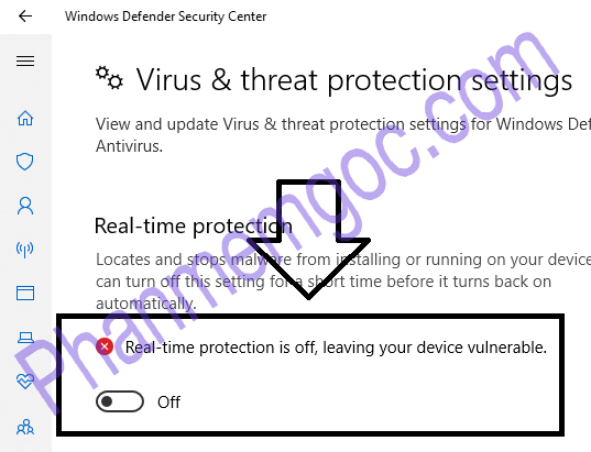 phanmemgoc.com_tắt Windows defender security center