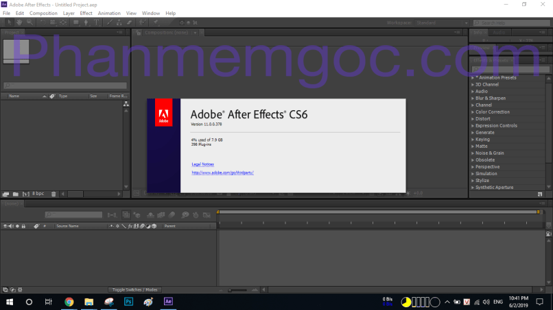 Download Adobe After Effects CS6 Full Crack Link Google Drive - Hướng Dẫn Cài Đặt 009-min