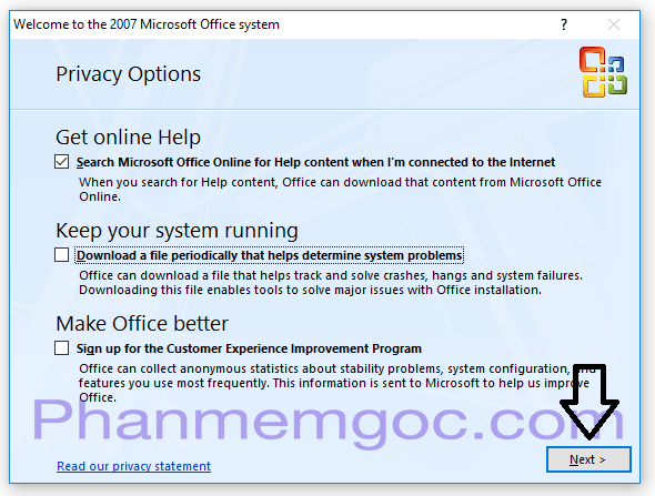 Download Microsoft Office 2007 Đã Activation Sẵn | Link