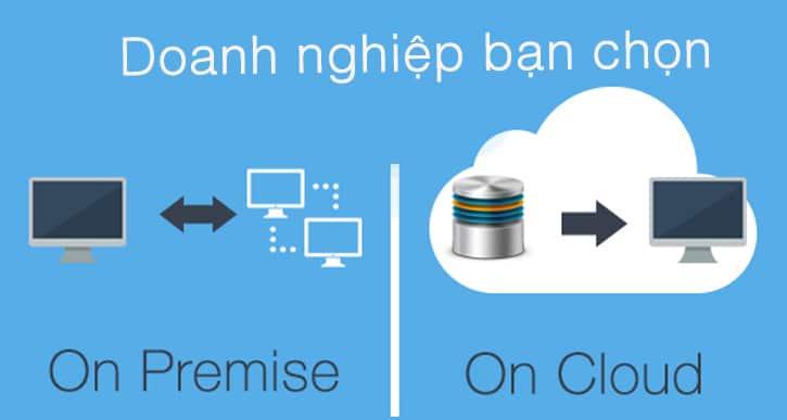 chon cloud hay on premise