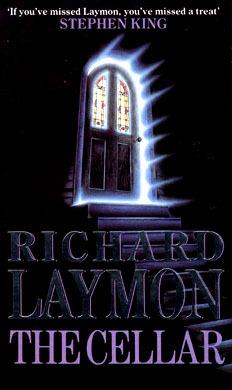"""Alternate book cover for Richard Laymon's horror novel """"The Cellar."""""""
