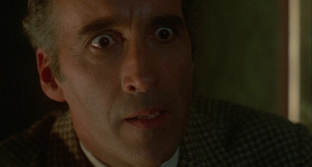 Christopher Lee in The House That Dripped Blood