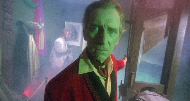 Peter Cushing in The House That Dripped Blood