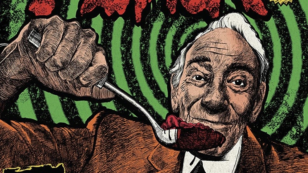 Herschell Gordon Lewis Feast Cover illustration