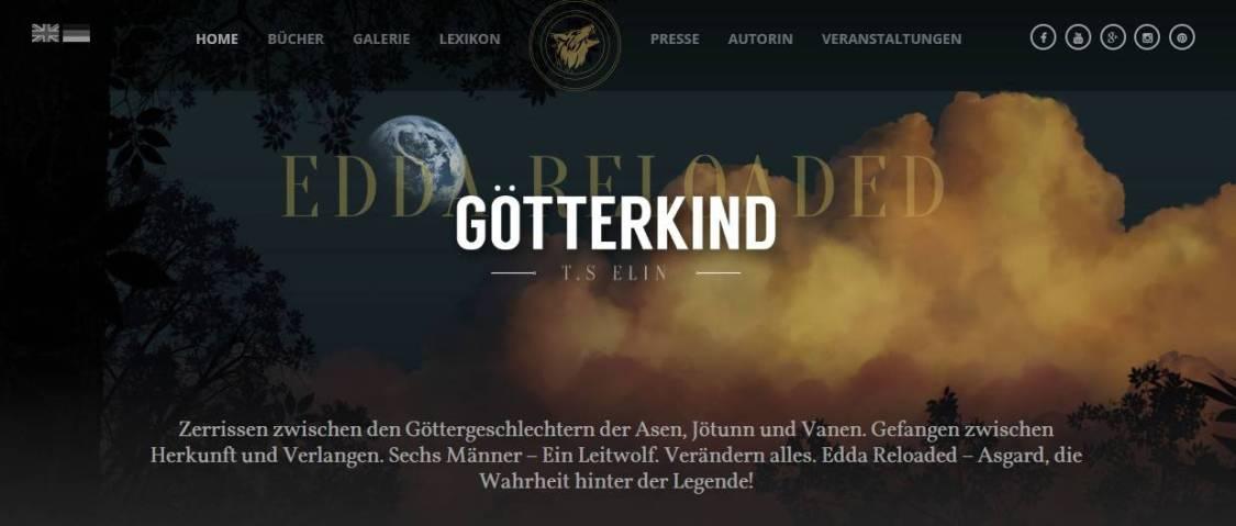 Edda reloaded - Götterkind 1 von T.S. Elin