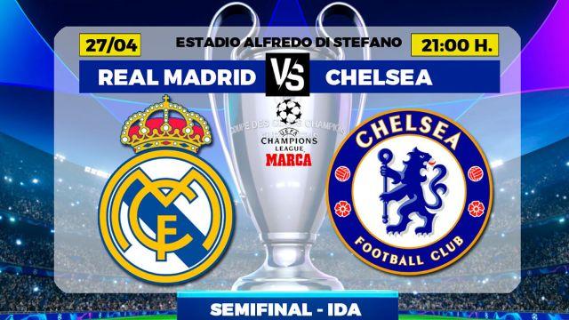 Real Madrid vs Chelsea | Champions League: Real Madrid vs ...