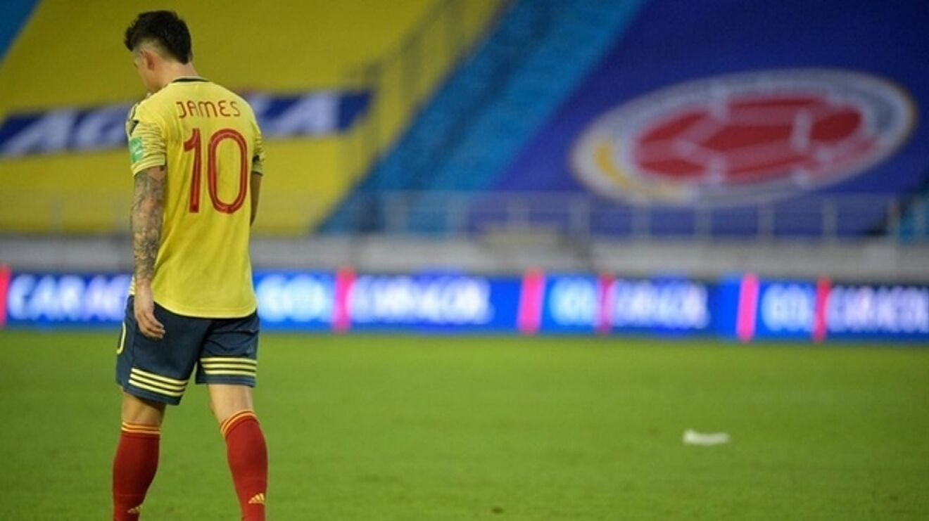 Copa America 2021: The real reason for James being dropped by Colombia... |  Marca