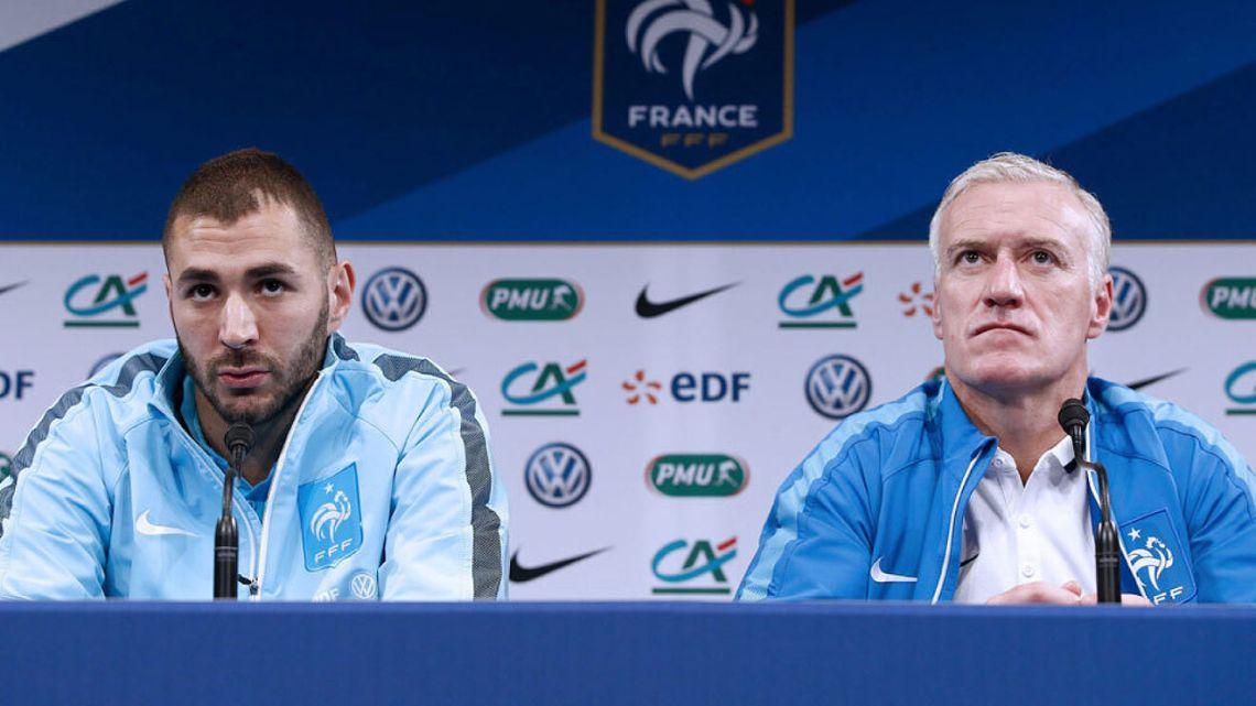 Karim Benzema Prancis Eurocup Tim Nasional Prancis Euro 2020