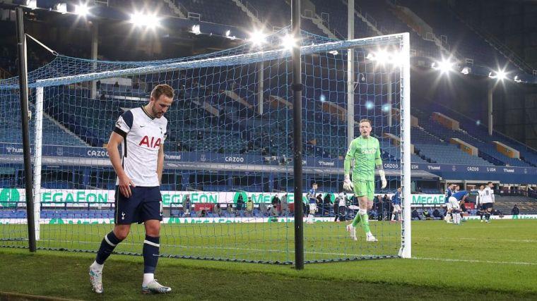 Harry Kane's injury against Everton