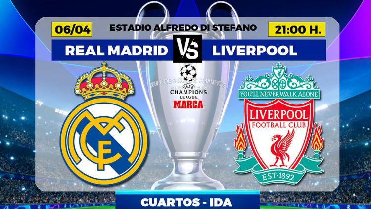 Real Madrid vs Liverpool   Champions League: When and ...