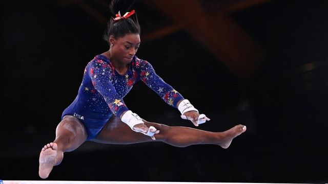 Simone Biles in an archive image