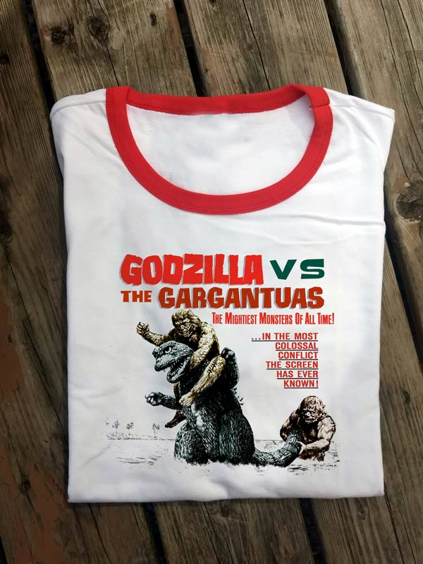 MONS004 Godzilla VS Gargantuas