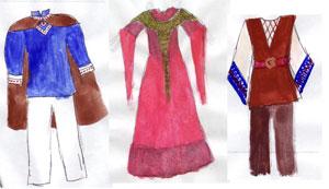 Cone costume designs