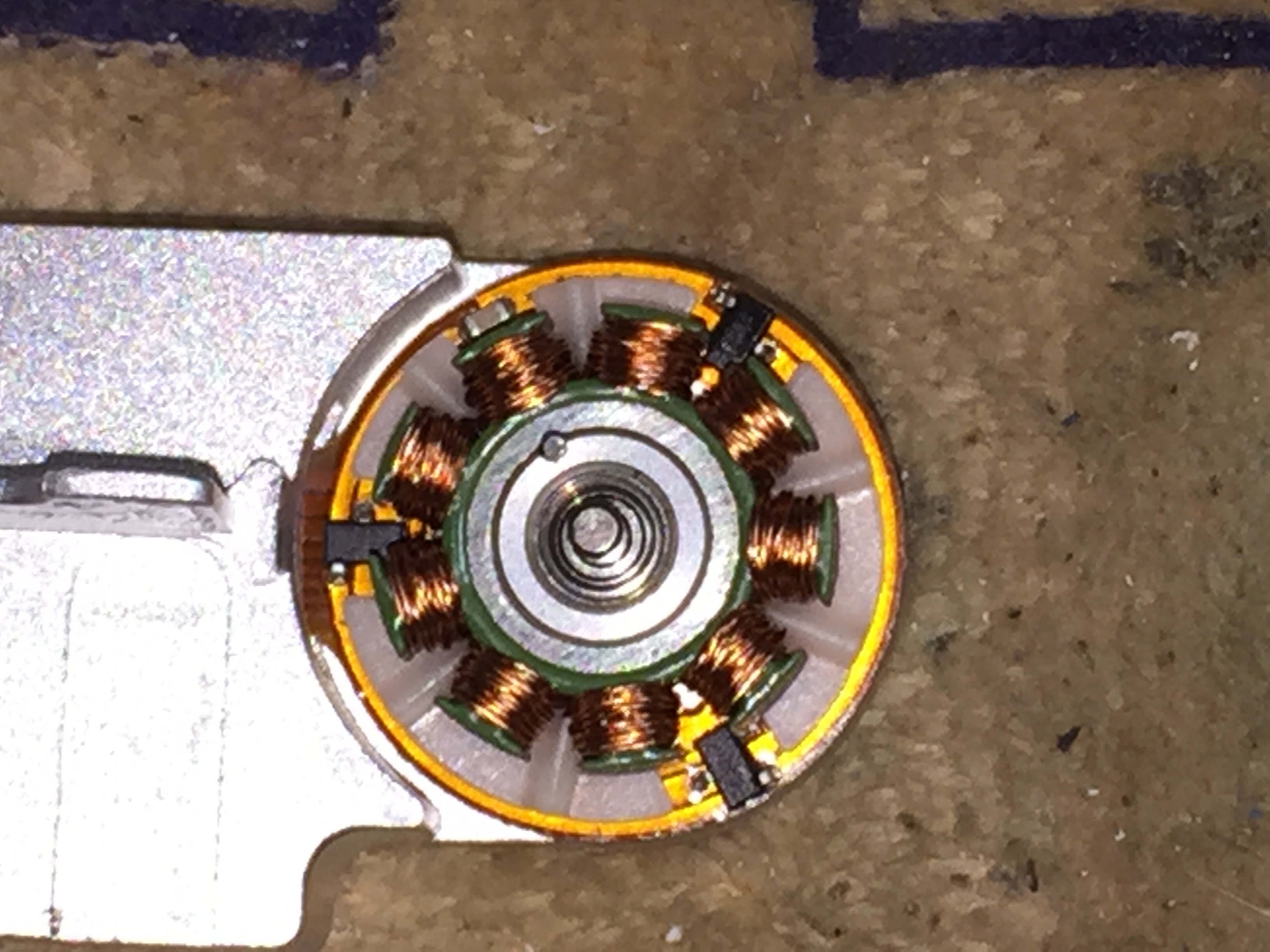 Barracuda With A Failure Of The Printed Circuit Board The Motor