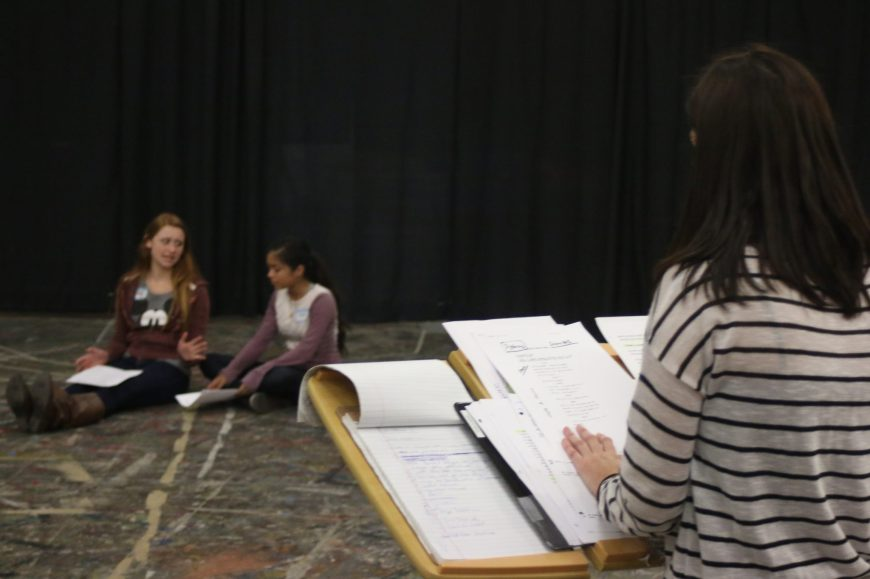 Tuesday Afternoon: Teen Scene Study