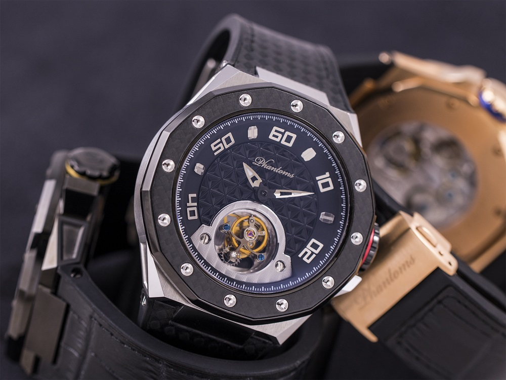 Phantoms Shield Series Tourbillon Mechanical Watch