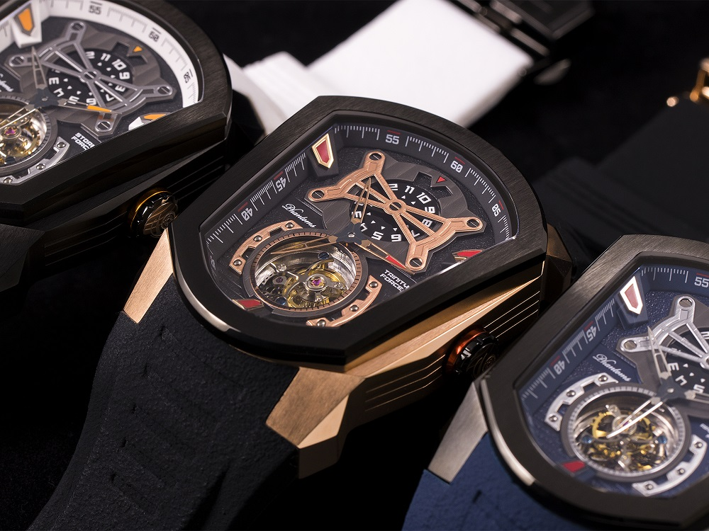 Phantoms Force Series Tourbillon Mechanical Watch