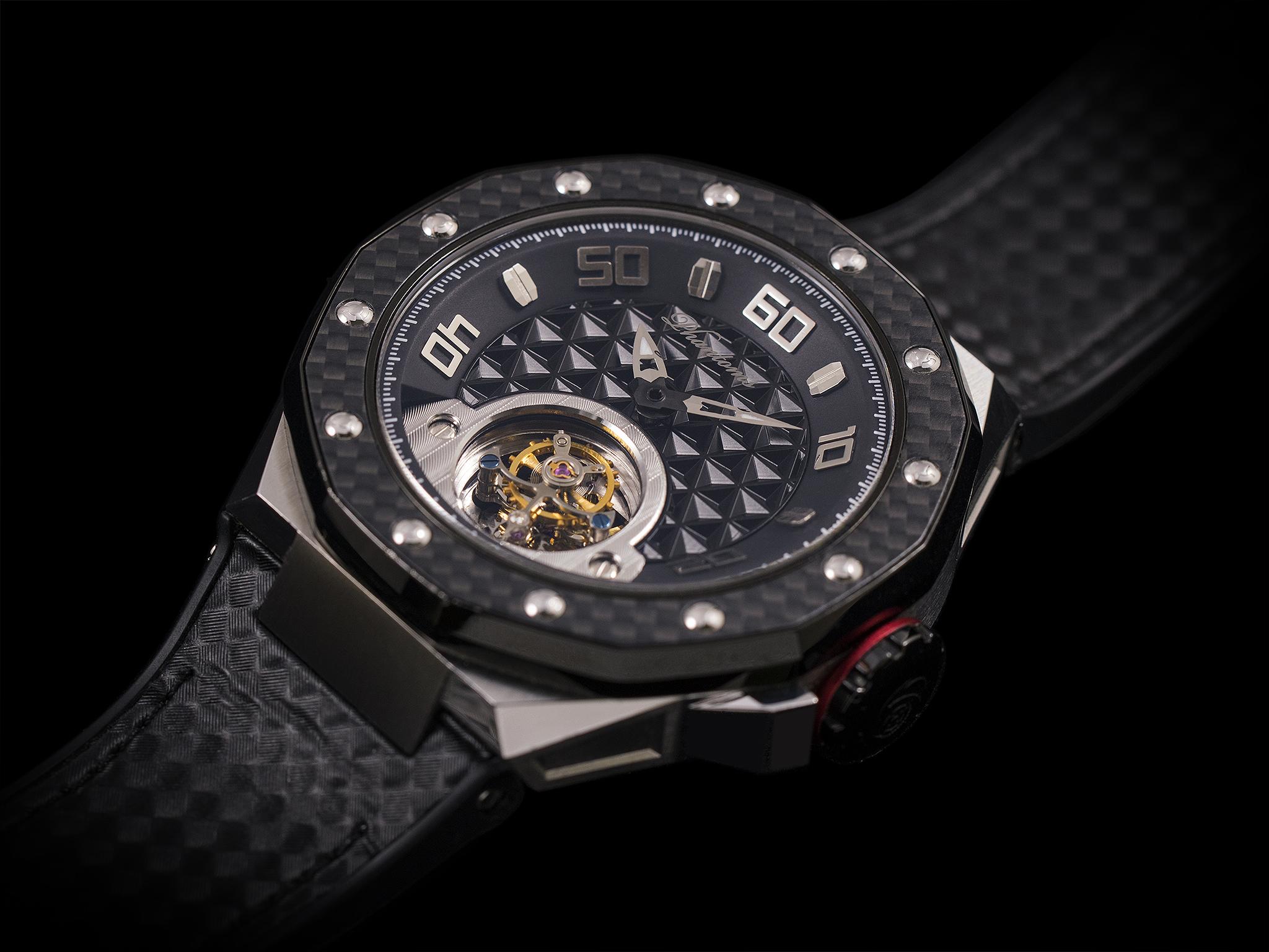 Phantoms Chaotic Shield Flying Tourbillon Mechanical Watch