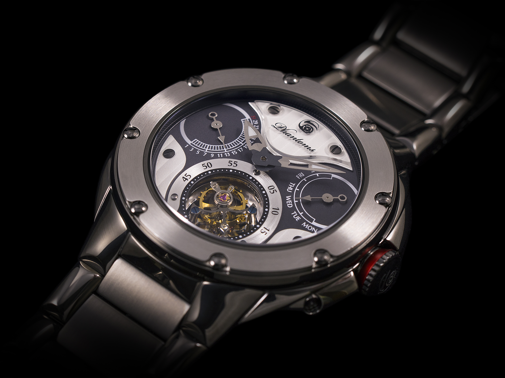 Phantoms Visionary Soul Tourbillon Mechanical Watch