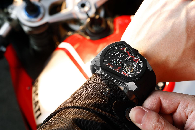 PHTW701- Speedforce time coffin mechanical tourbillon watch