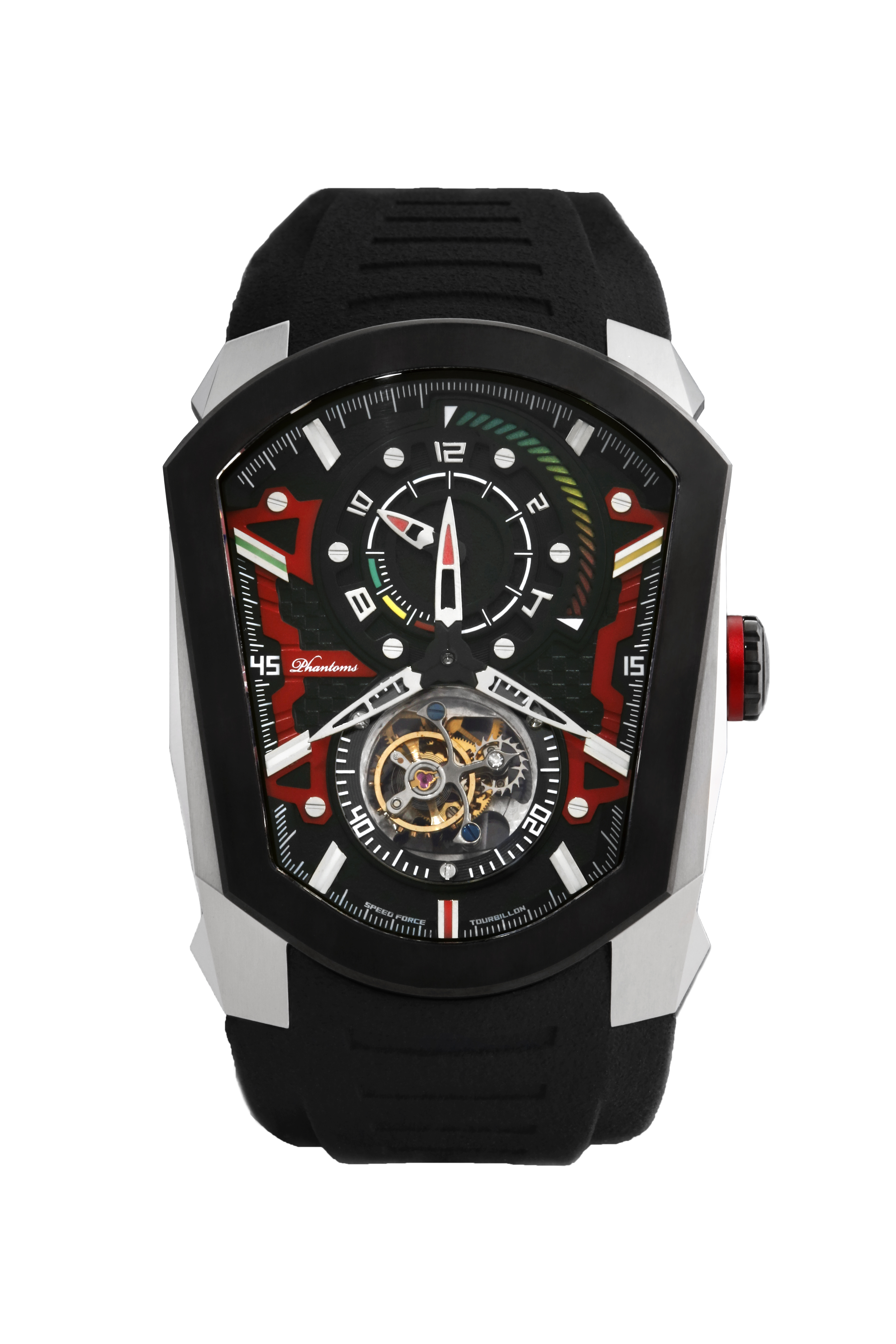 PHTW701 - zoom speed force affordable tourbillon tme coffin mechanical watch