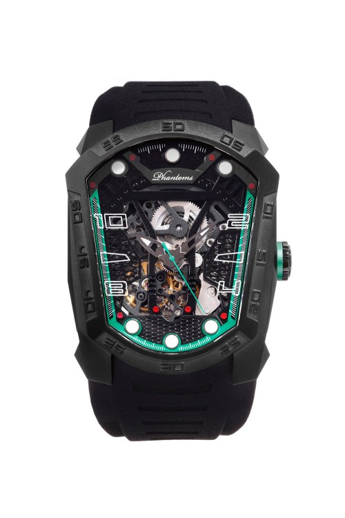 PHTW313-01 Cyber Blade Phantoms Watch Automatic Mechanical Watch Time Coffin