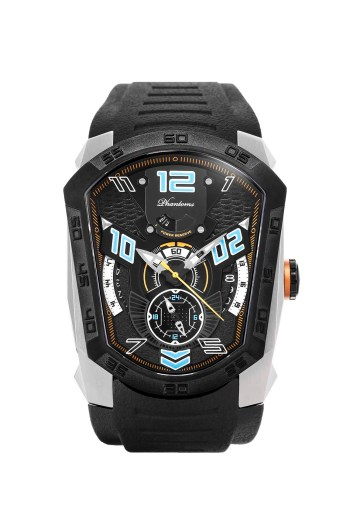 Spearic Laser Series Japanese Miyota Automatic Watch, Phantoms Watch Tourbillon, Sporty Mechanical Watch For Men