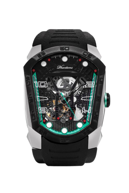 Camo Blade Automatic Mechanical Watch Futuristic Mens Watch Best Microbrand