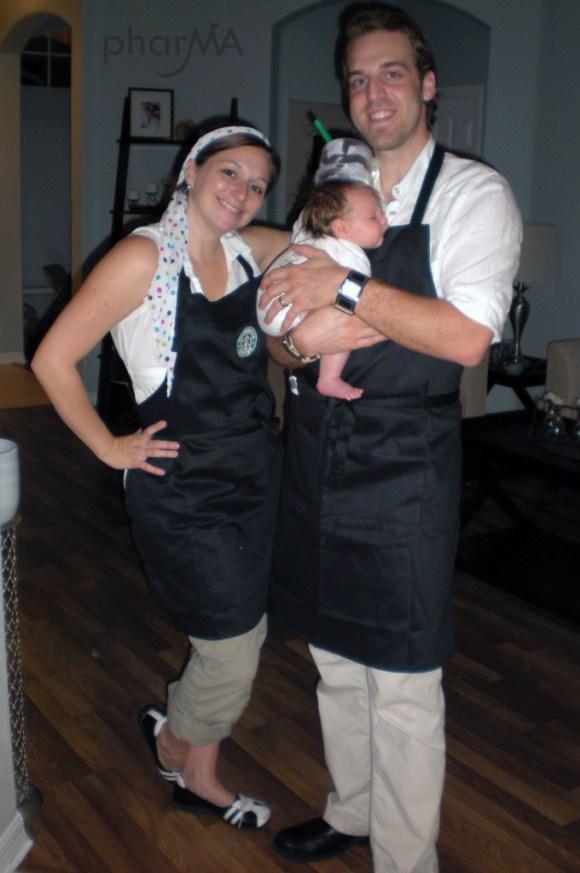 Starbucks Family Costumes
