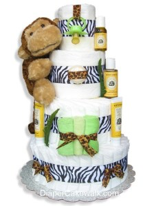 Safarineutral-diaper-cake
