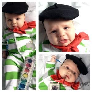 DIY Baby beret