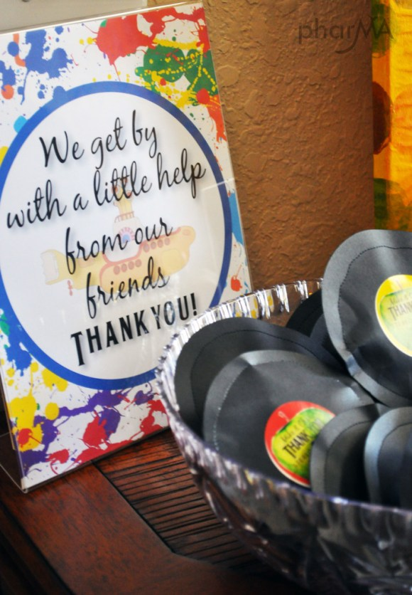 Records DIY Favors