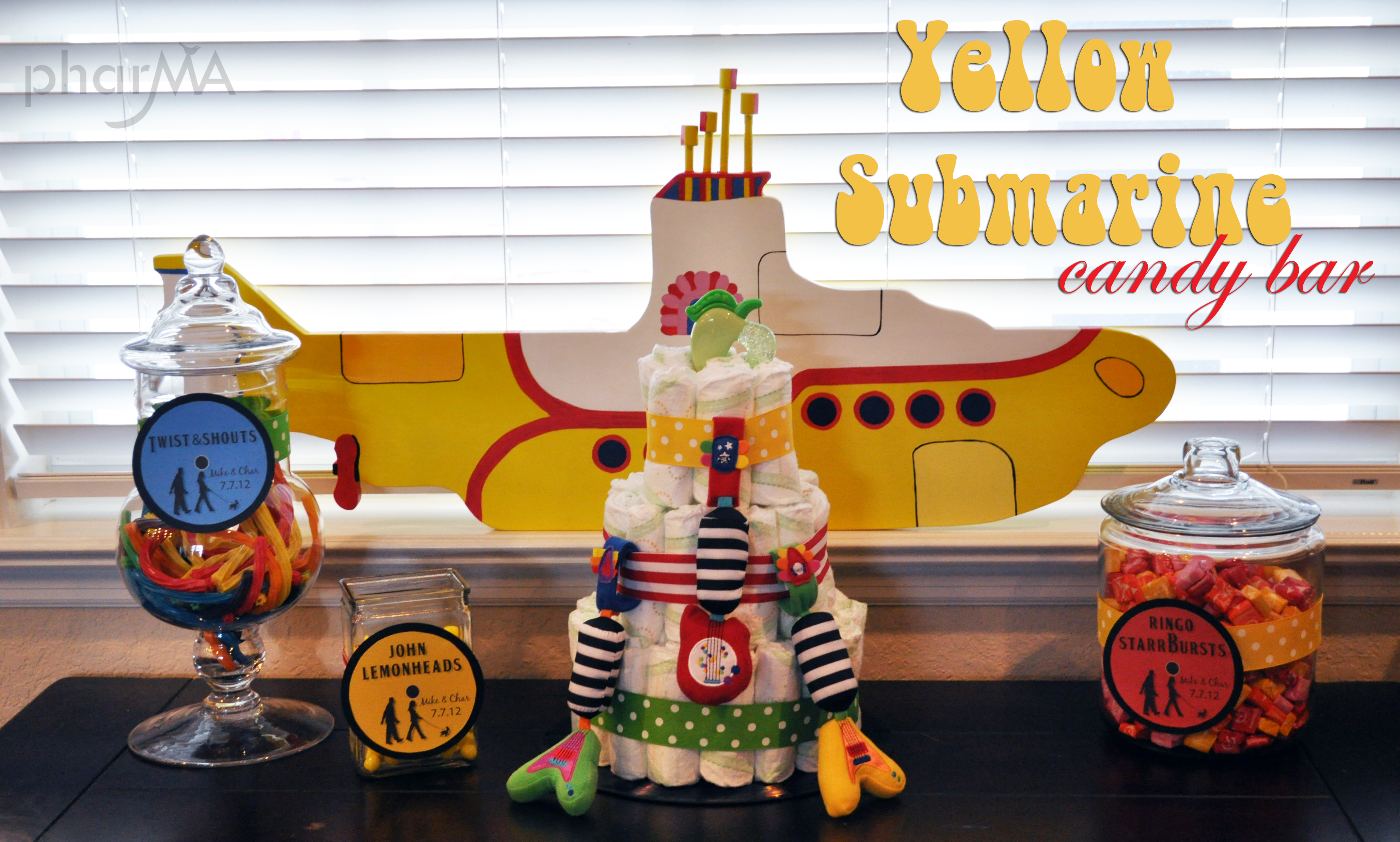 Party Submarine Unique Birthday Party Ideas And Themes