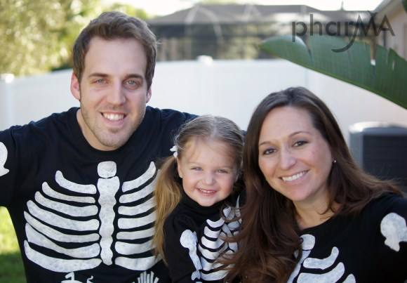 Pregnant/Maternity Skeleton Halloween Costume