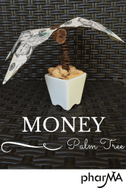 How to Make an Origami Money Palm Tree