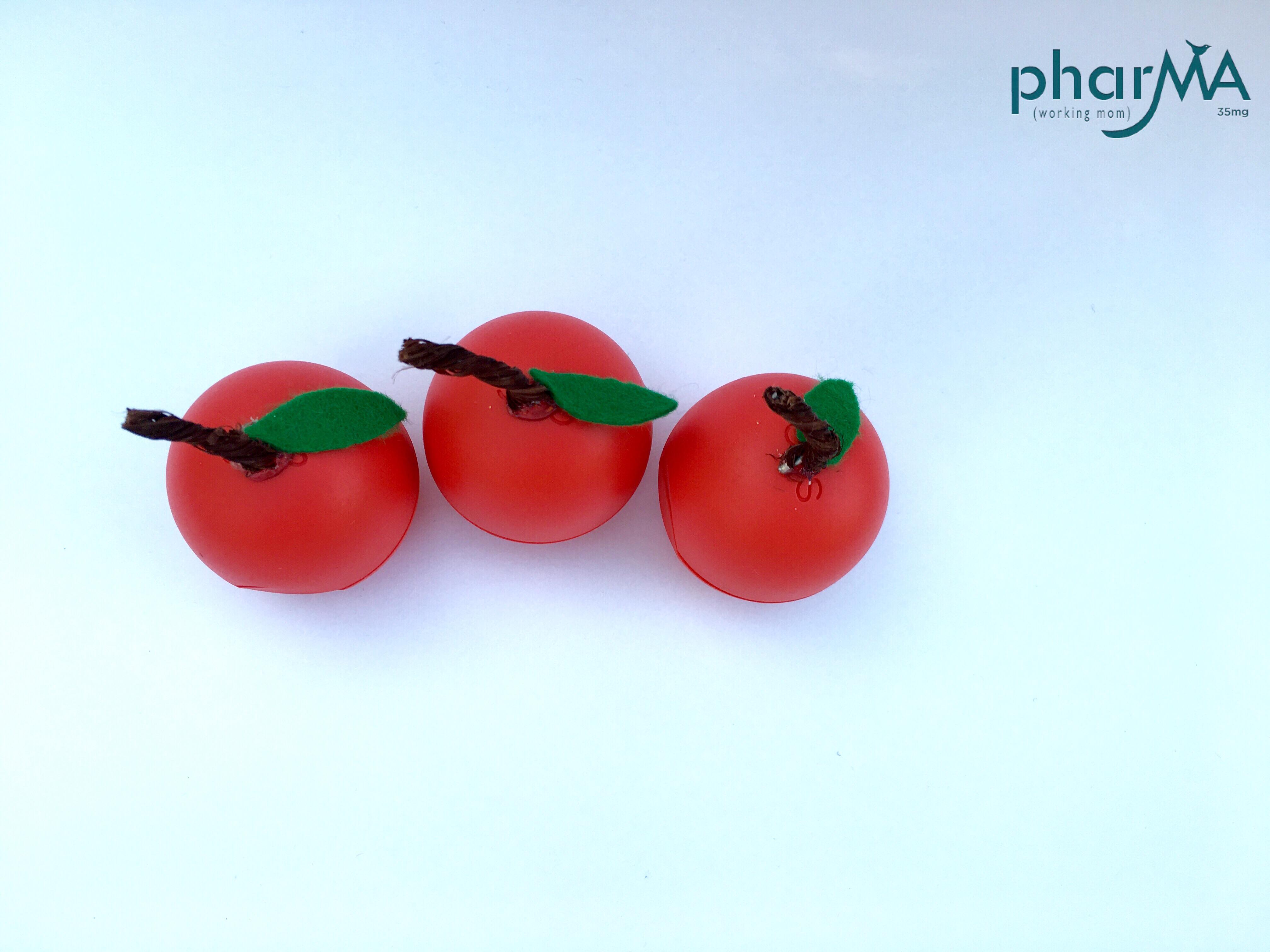 EOS DIY fruit, teacher appreciation, the PharMA blog, diy gift