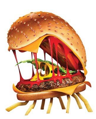 DIY Foodimals, Barry, Cheeseburger Spider, Sam Sparks, Flint Lockwood