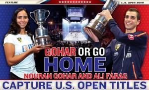 CIB Nouran Gohar & Ali Farag in USSquashMagazine